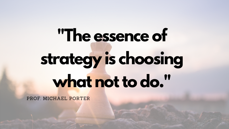 Have a strategy for your site